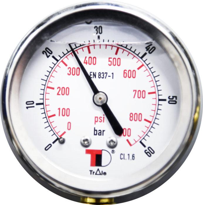Hiilidioksidijärjestelmän paineet voivat vaihdella normaalissa käyttötilanteessa 10:sta jopa 100 bar:iin asti.
