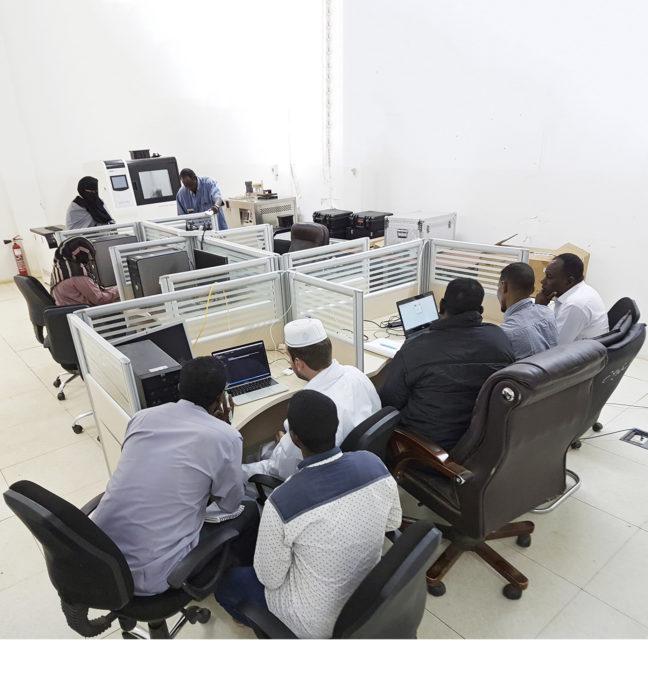 Järjestelmäkoulutus on käynnissä Sudanin ilmatieteen laitoksella.