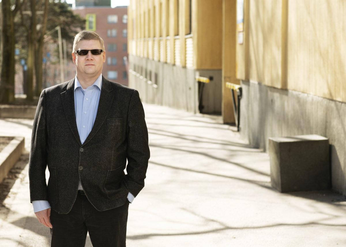 Tuomo Kinnunen on ainoa ja ensimmäinen luottamusmies työpaikallaan.