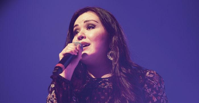 Myös Kuopion Tulevaisuutta luomassa -konsertissa Diandran laulu helisi kauniisti ja liikutti yleisöä huhtikuussa.