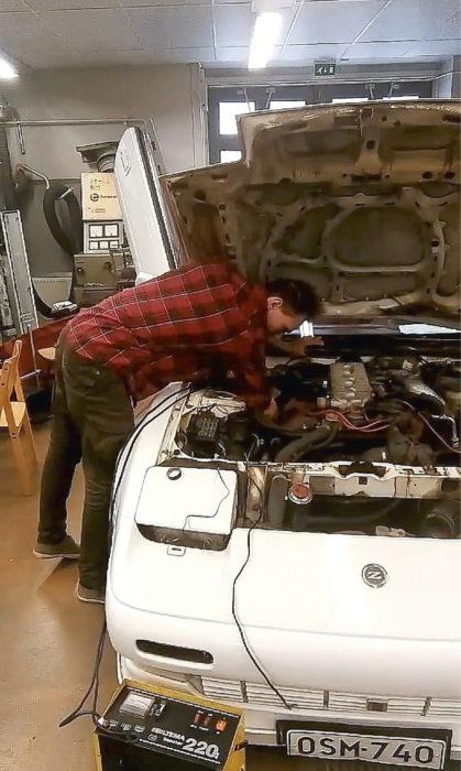 Nissan 300Z vaatii paljon työtä.
