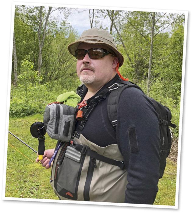 Janne Väätäjän kesä alkaa useimmiten kalajutuissa.