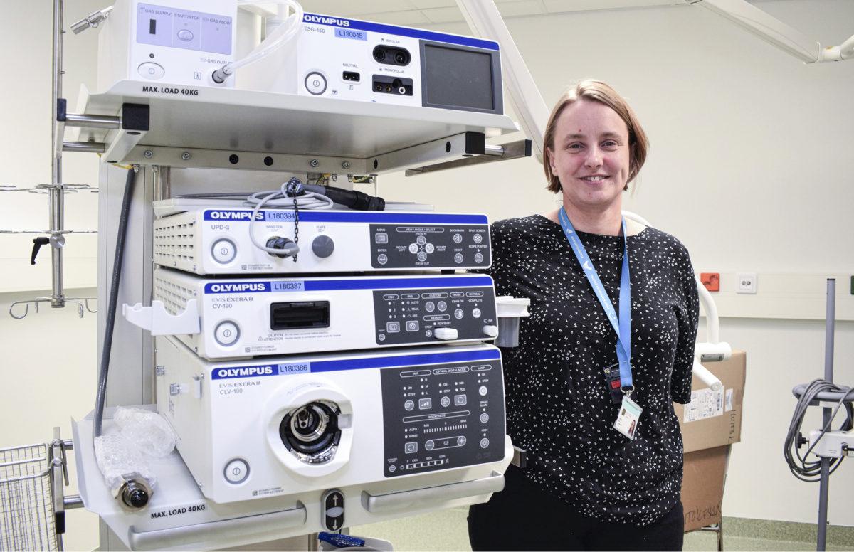 Nora Saarlemon työpaikka on Etelä-Karjalan keskussairaala Lappeenrannassa.