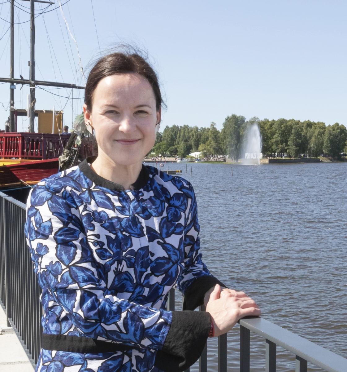Grete Ahtolalle Suomen kesän festivaalit ovat tulleet tutuiksi.
