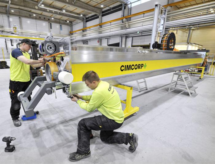 Cimcorpin tilauskirjat pullistelevat. Yhtiön uusin päänavaus on Espanjassa, jonne se toimittaa neljä jakelukeskusta elintarviketeollisuudelle.