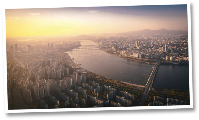 Hangang-joki  on Korean niemimaan  neljänneksi pisin joki.