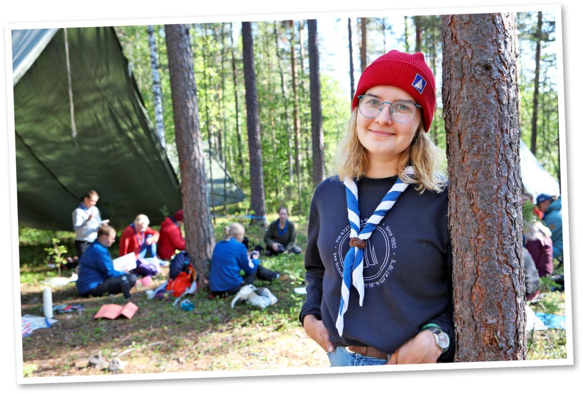Viivi Sydänlammi osallistui Johtajatulet-tapahtumaan syyskuussa.