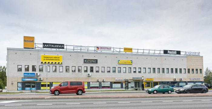 Jyväskylässä toimiva  Kespat palvelee pääosin keskisuomalaisia yrityksiä.