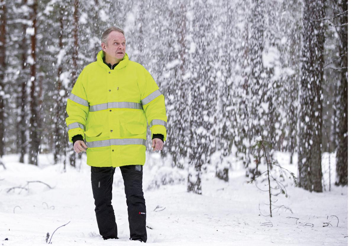 Arto Hannola vastaa Pölkyn laitosten ympäristöasioista, turvallisuudesta ja kunnossapidosta.