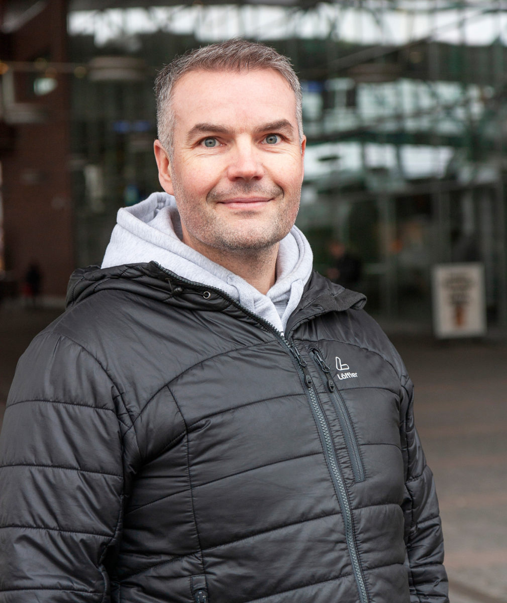 Timo Härmälä on tyytyväinen viime vuoden myönteiseen jäsenkehitykseen.