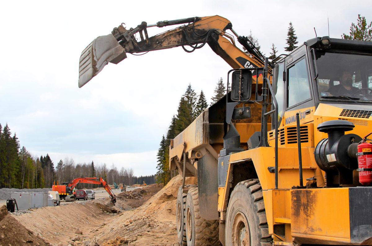 Pieksämäen tielle johtavat rampit ovat iso työkohde Mikkelin päässä.