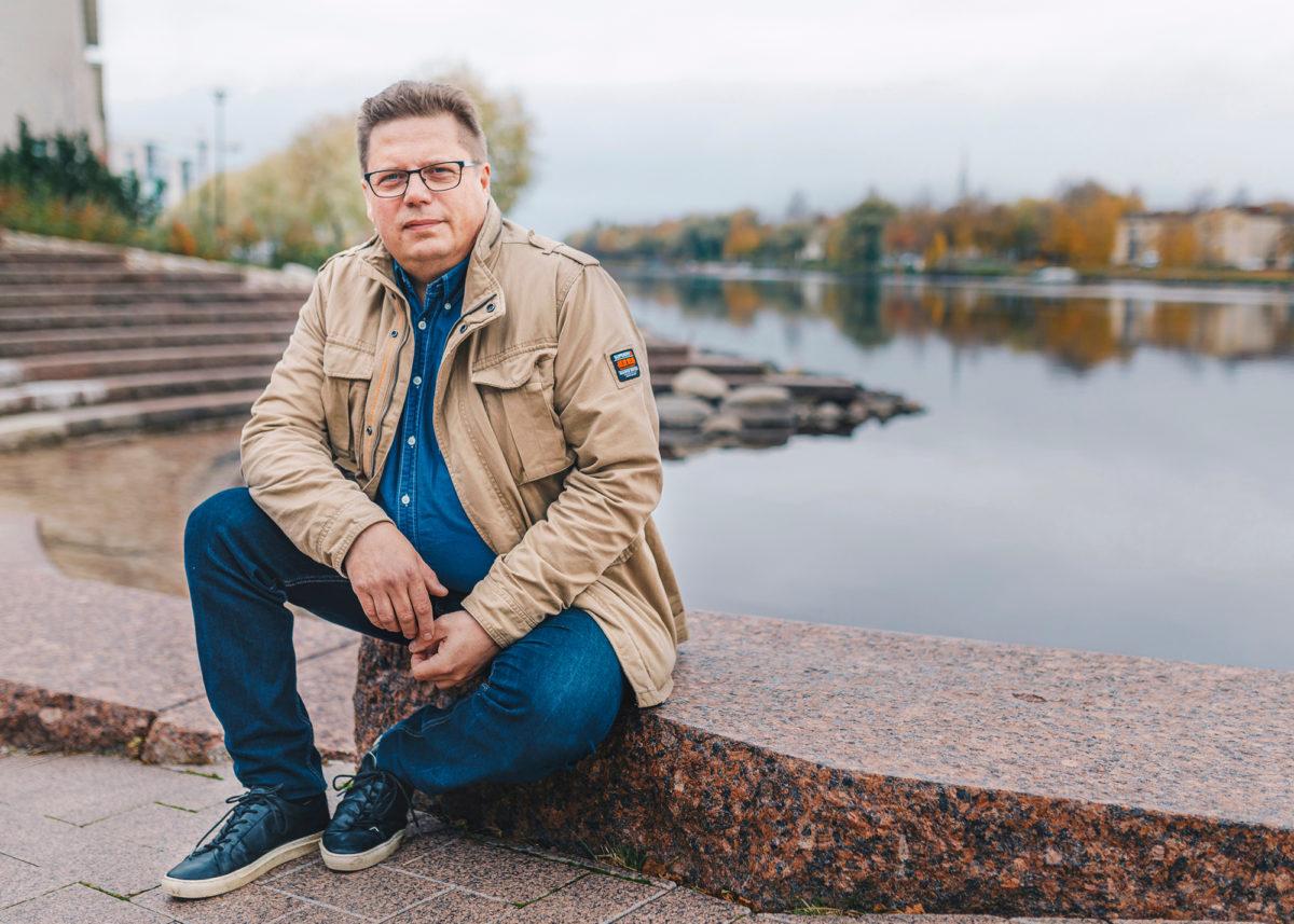 Jari Nevalaisen mielestä EWC-pöydässä henkilöstö ja johto keskustelevat ja kuuntelevat toisiaan aidosti.