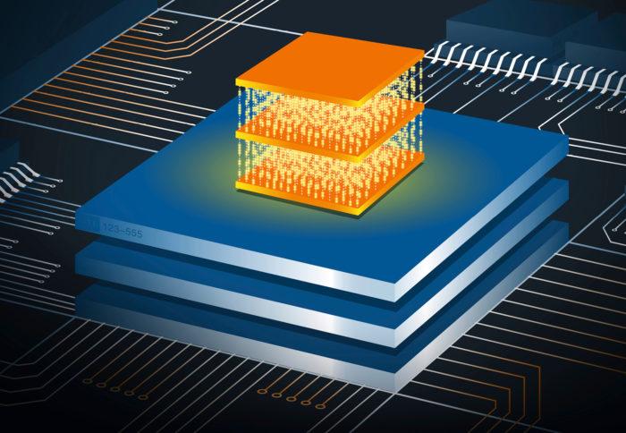 Havainnekuvassa on vielä rakentamaton kvanttitietokone.