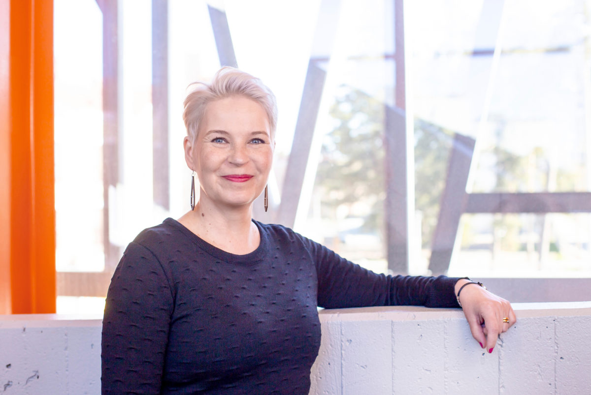 Kati Komulainen kertoo, että Vaasassa läpäisyprosentti on maan keskiarvoa korkeampi.