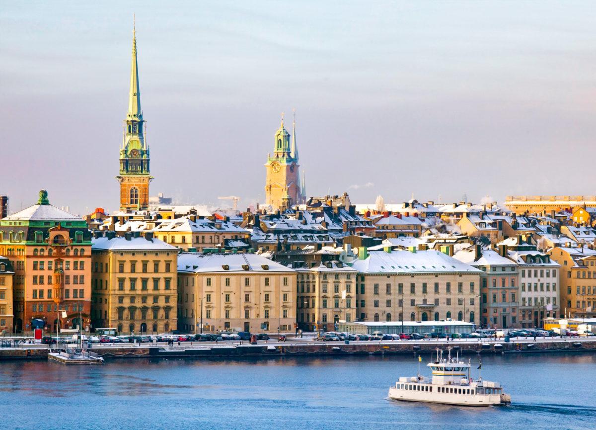 Koronaviruspandemia on vähentänyt liikkumista Tukholmassa.