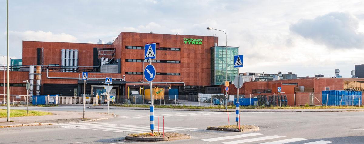 Nokian Renkaat on kaupungin suurin työllistäjä.