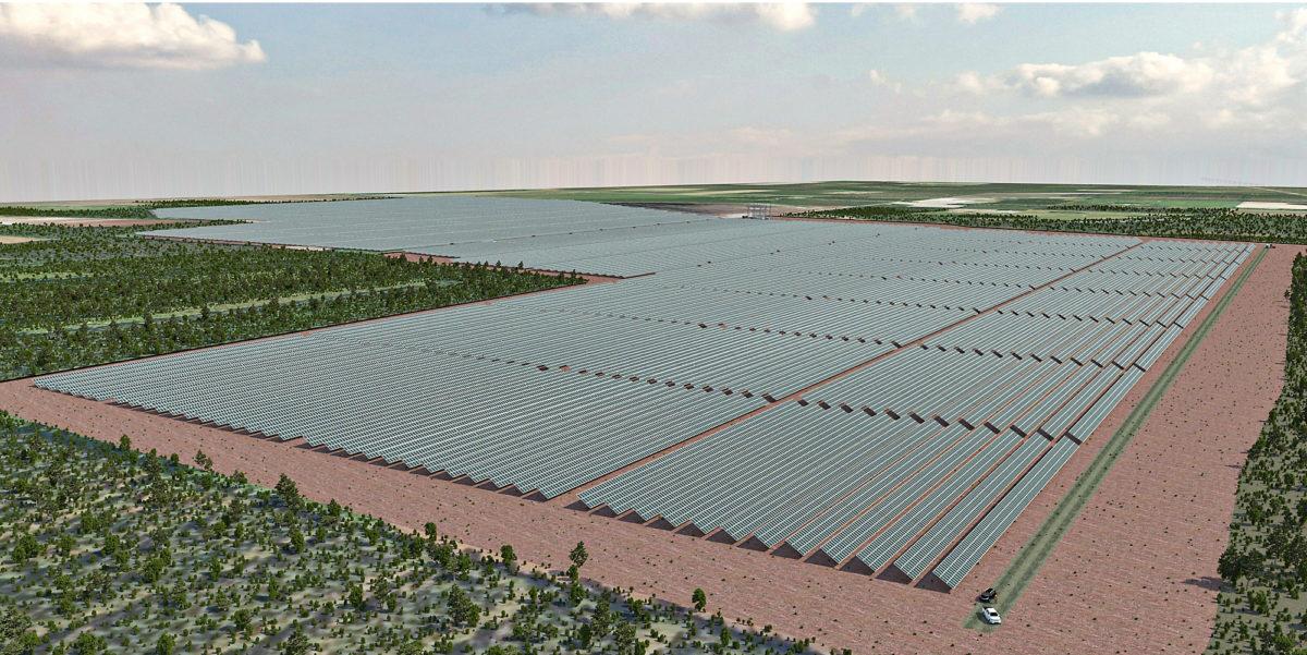 Lapuan Heininevalle suunnitellaan 140 hehtaarin kokoista aurinkovoimalaa.