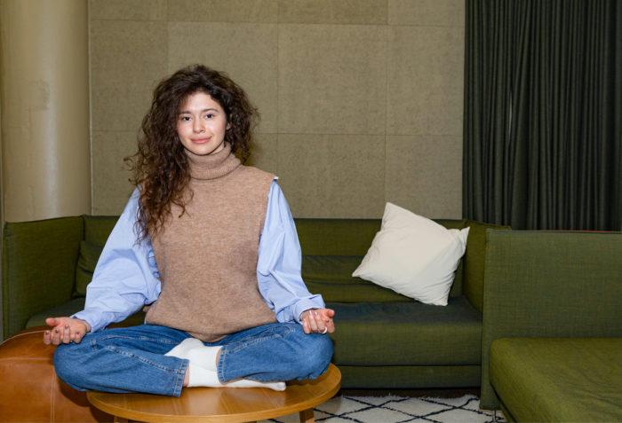 Jooga on yksi Sophia Pashchenkolle tärkeistä harrastuksista.