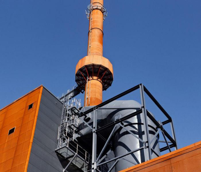 Kymijärvi III -voimalaitos polttaa puutuoteteollisuuden sivuvirtoja.