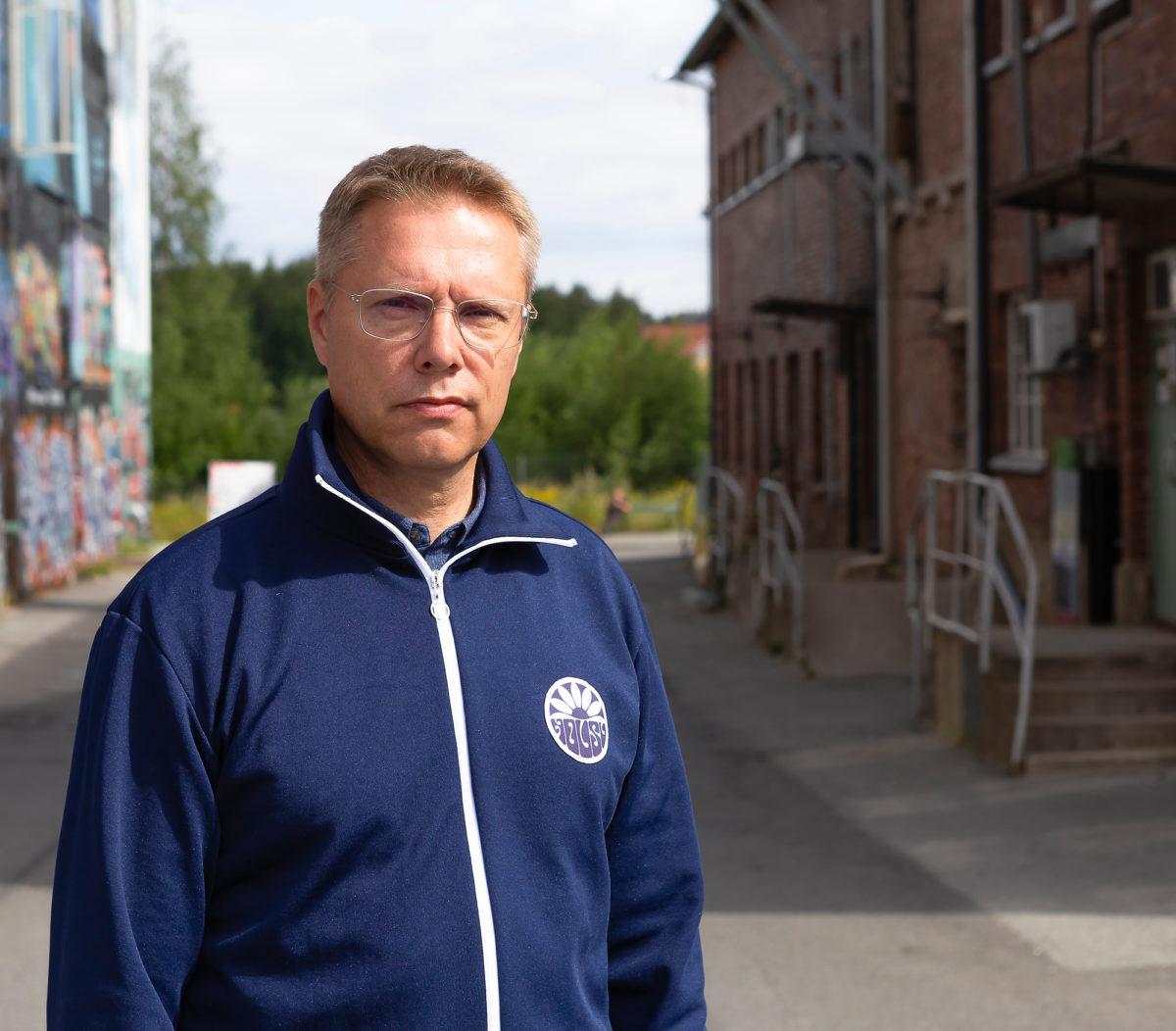 Mikko Leinonen etsii vanhoille tehdaskiinteistöille uutta käyttöä.
